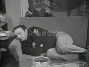 """Jean Luisi dans """"Les cinq dernières minutes"""", épisode """"Un mort sur le carreau"""""""